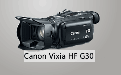 The best consumer camcorder Canon VIXIA HF G30