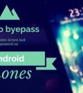 How to byepass forgotten screen lock