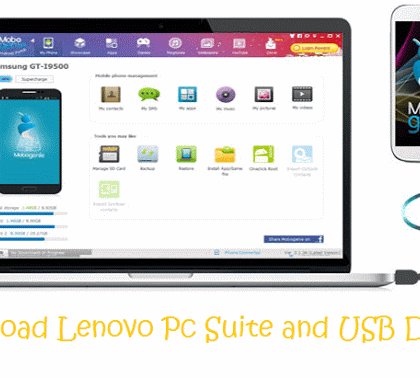 Lenovo PC Suite and USB Drivers Free Download | Freetins