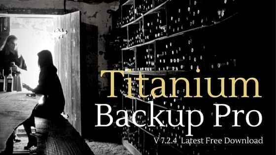Titanum Backup Pro APK Download