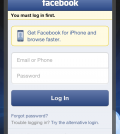 facebook.com login home page fullsite