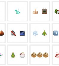 100 pics christmas emoji