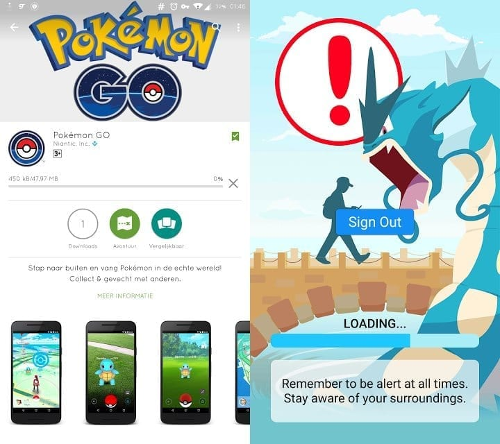 pokemon go app download for android